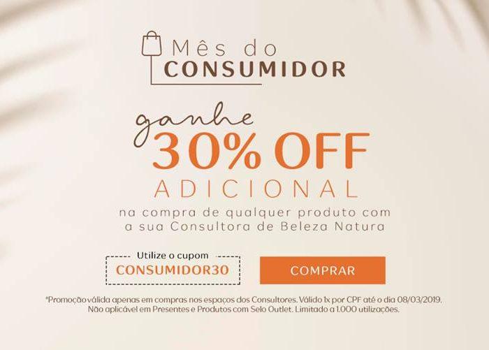 Mês Consumidor Natura