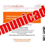 Comunicado Natura